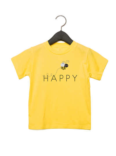 Bee Happy Tee - Direct Embroidery