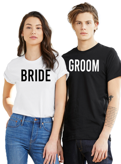 Bride and Groom Couples Set - Direct Embroidery