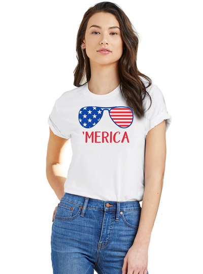 'Merica Tee - Direct Embroidery