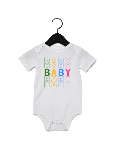 Baby x5 Onesie - Direct Embroidery
