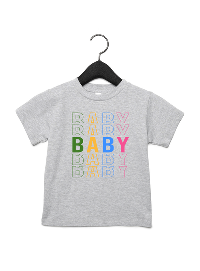 Baby x5 Tee - Direct Embroidery