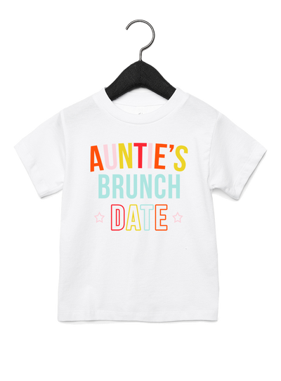 Auntie's Brunch Date Tee - Direct Embroidery