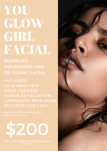 YOU GLOW GIRL - Lymphatic massage includes microdermabrasion