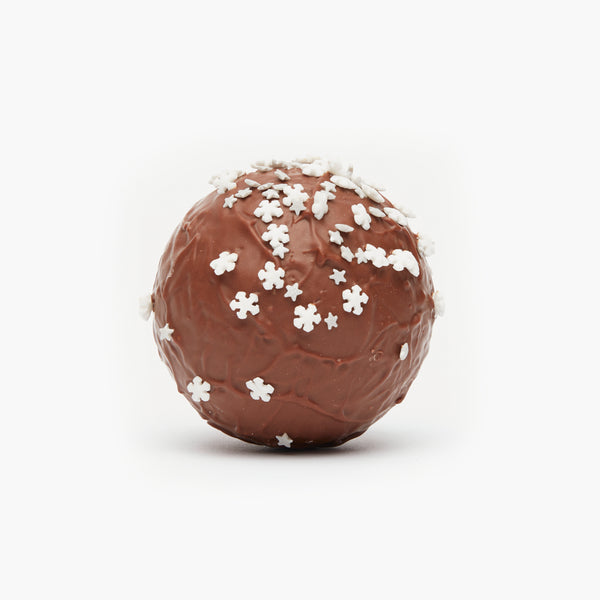 Snowflake and Stars Chocolate Snowball