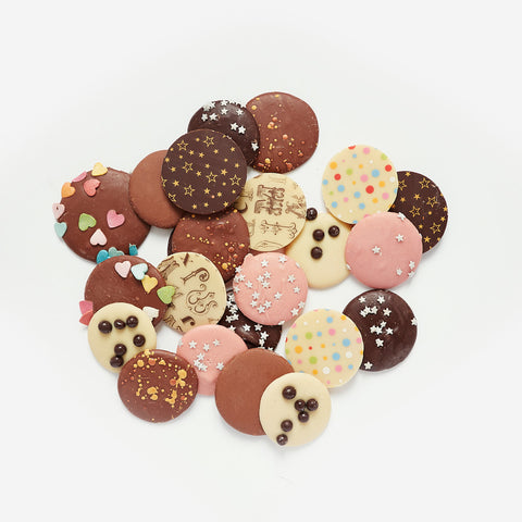 Fancy Chocolate Buttons