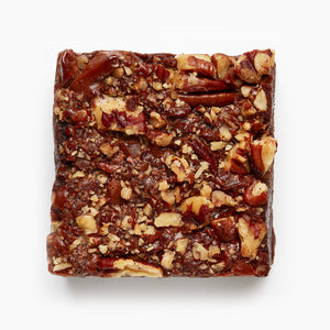Pecan, Cornish Sea Salt and Caramelized Milk Chocolate Brownie