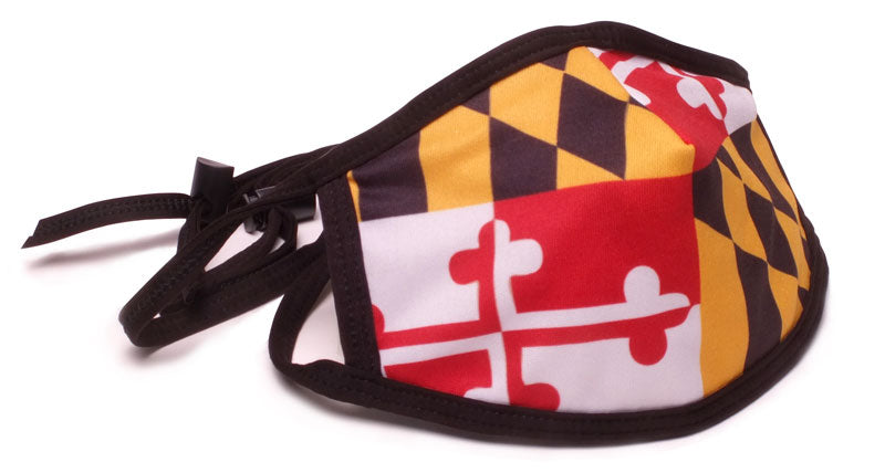 Maryland Flag Mask