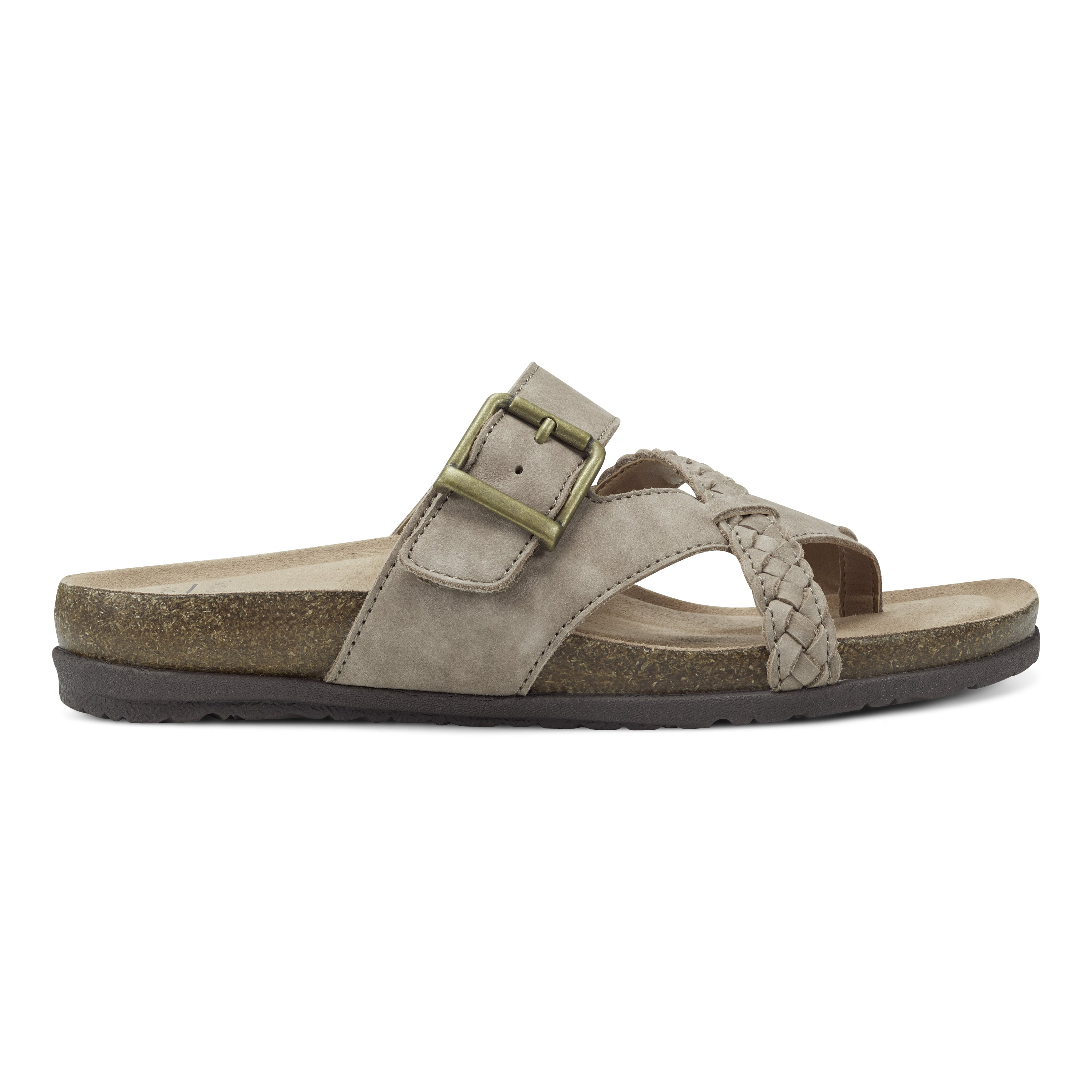 You\\\'ve got places to go and things to do, and the Earth Origins Orono Foster Thong Sandal can get you there, with its lovely leather straps and cork midsole that provides endless style and support.