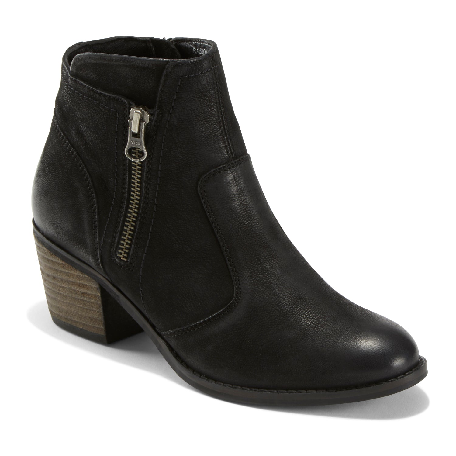 A touch rock n roll glam, a touch modern sophistication. It\\\'s a perfect balance achieved by this stylish bootie, crafted from eco conscious materials and designed for absolute comfort.