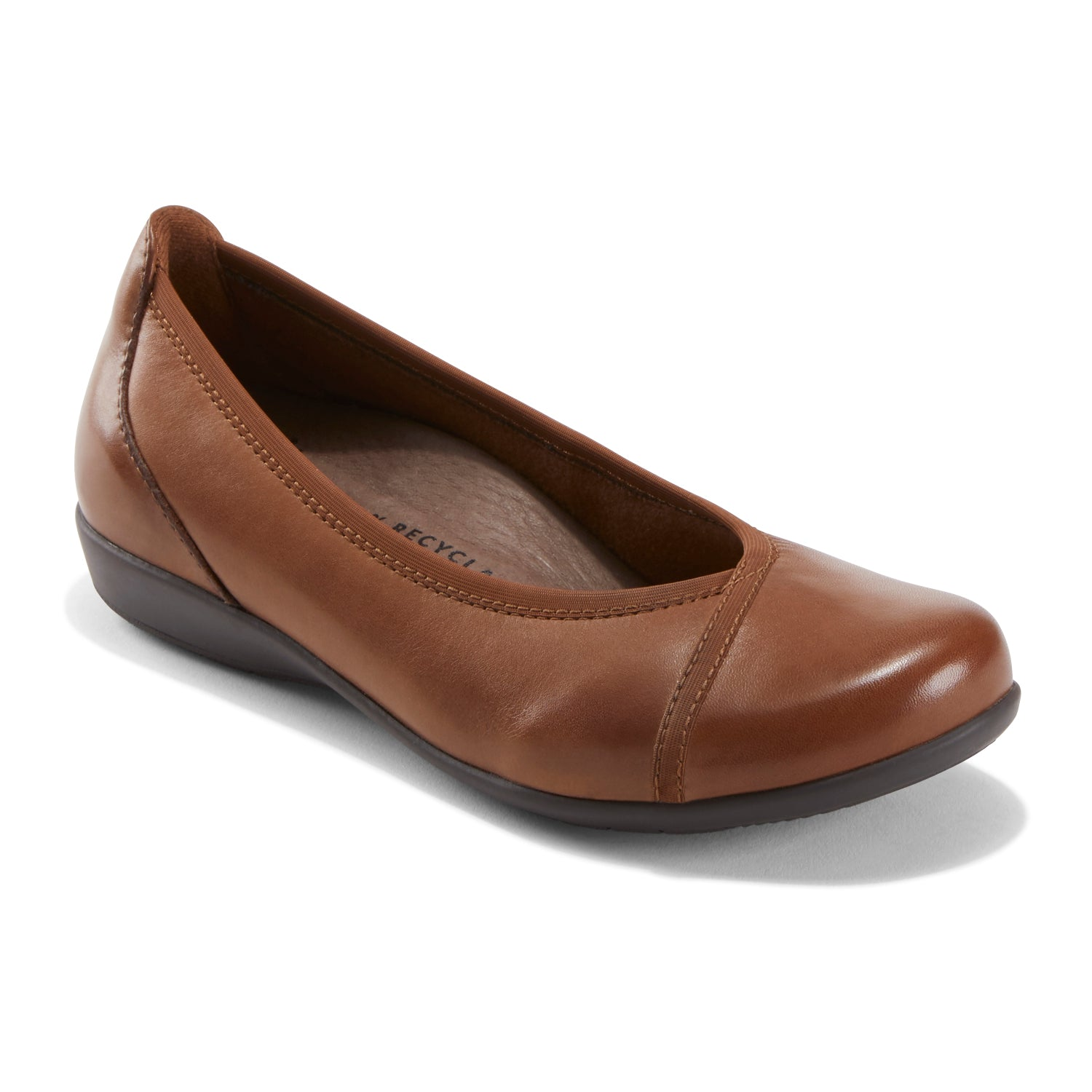 Elevated simplicity turns the classic ballet flat into an essential everyday style. It\\\'s also crafted with eco sensitive materials and designed to make you feel spectacular as you go about your day.