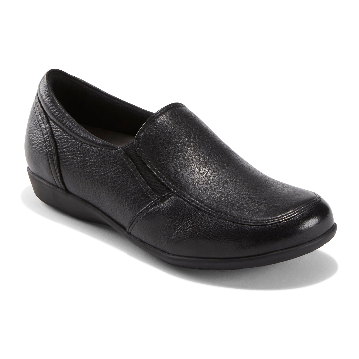 Understated, refined and eco conscious, it s an exceptionally comfortable shoe that slips on effortlessly and provides limitless versatility. It\\\'s the perfect style for the office or around town.