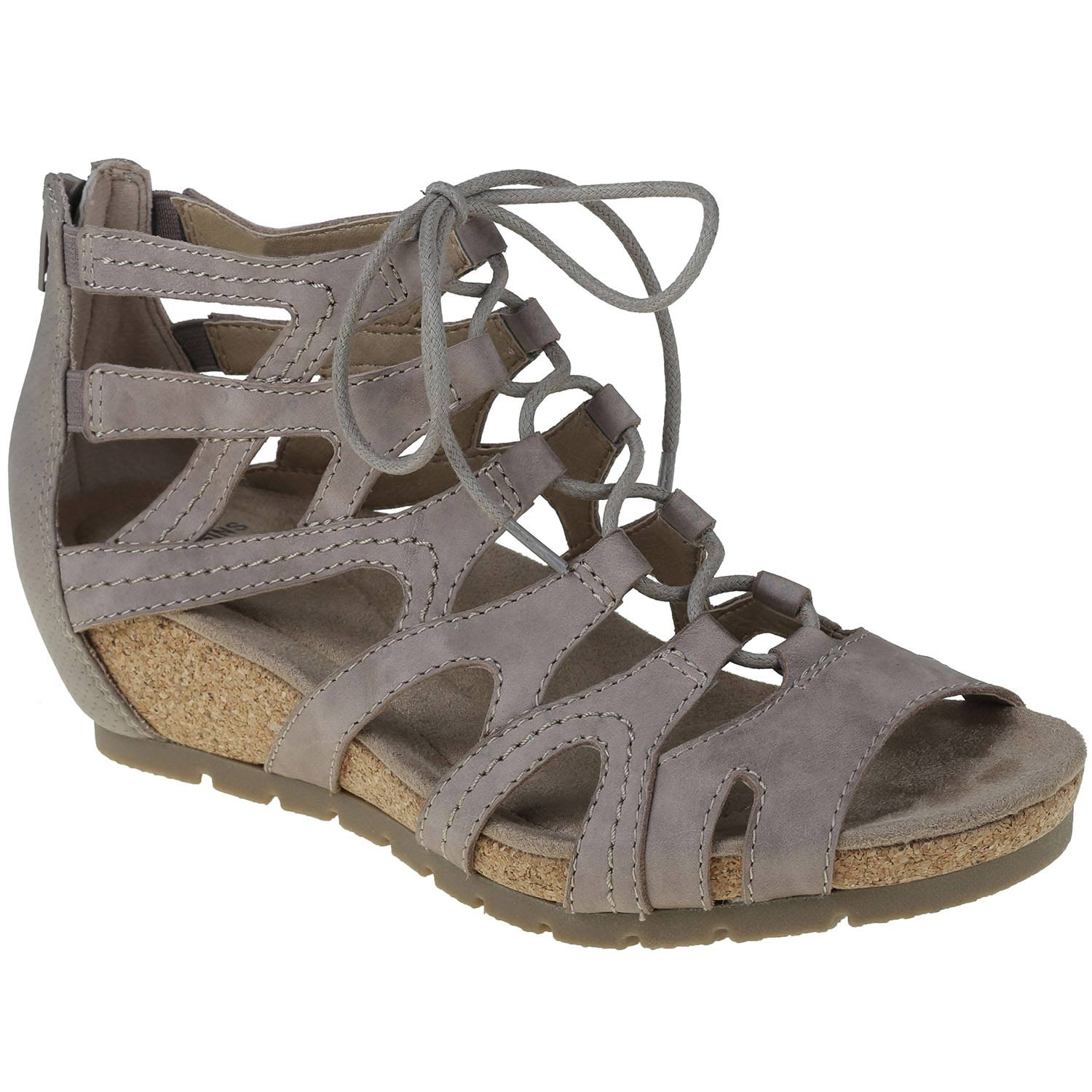 The wedge bootie sandal crafted for amazing customizable fit, great looks and lightweight comfort that keeps you smiling. Enjoy the Earth Origins Kamilla.