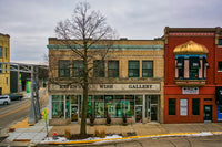 Raven's Wish Gallery Store Front in Historic Downtown Janesville