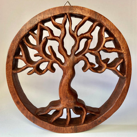 Tree of Life Wooden Wall Hanging