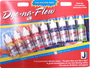 Jacquard Dye-Na-Flow Paint Exciter Pack