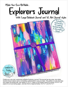 Explorer's Journal Pattern - Digital Version (download) 20% Off!