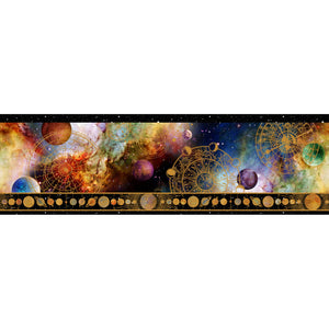 COSMOS Border Print by Jason Yenter for In The Beginning