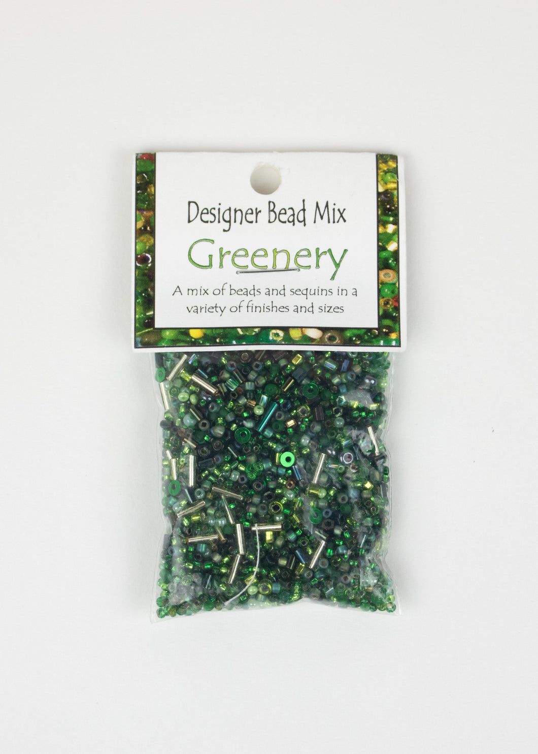 Bead Mix: Greenery