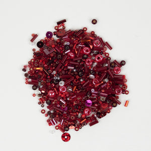 Bead Mix: Red Hots!
