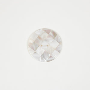 Button: Shell 47mm Round Patterned