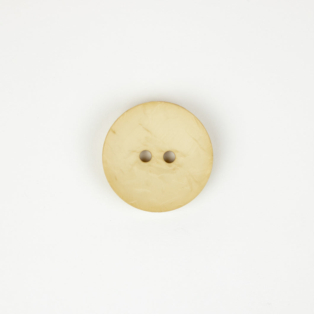 Button: Plastic 45mm Round Ivory