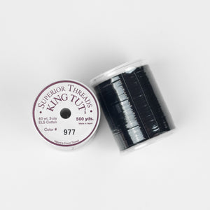 King Tut Quilting Thread spool - Black