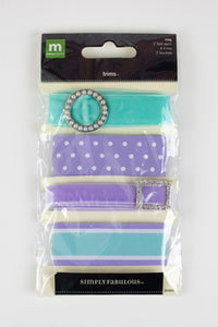 Trim Pack - Turquoise/Lavender REDUCED!