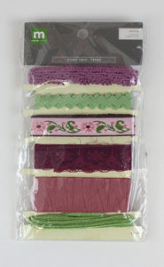 Trim Pack - Mauve/Pink/Green REDUCED!