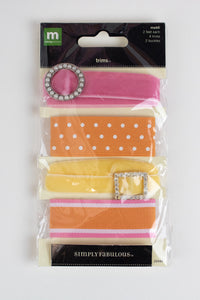 Trim Pack - Pink/Yellow/Orange REDUCED!