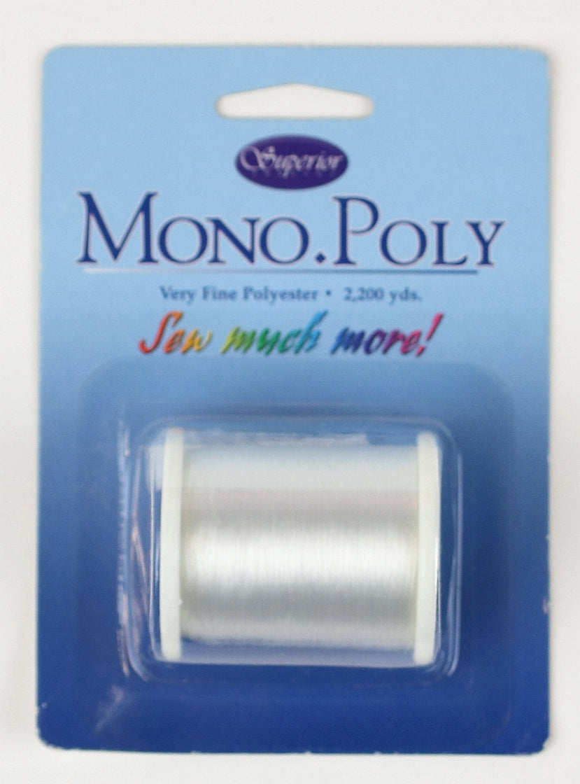 MonoPoly Invisible Thread Spool - Clear