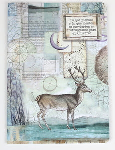 Notebook A5 - Deer & Moon