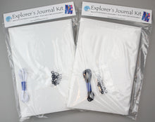 Load image into Gallery viewer, Explorer's Journal Base Kit - White or Black Elastic