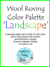 Load image into Gallery viewer, Wool Roving Palette - Landscape