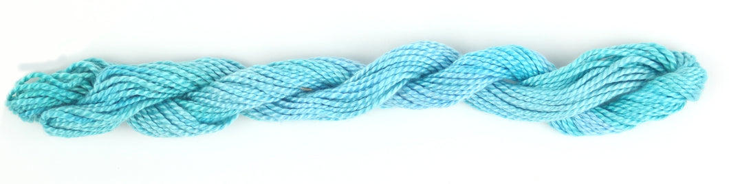 Hand Dyed Pearl Cotton size 3 - Ocean