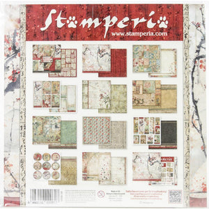 Oriental Gardens Book Maker Kit