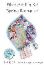 Load image into Gallery viewer, Fiber Art Pin Kit: Spring Romance