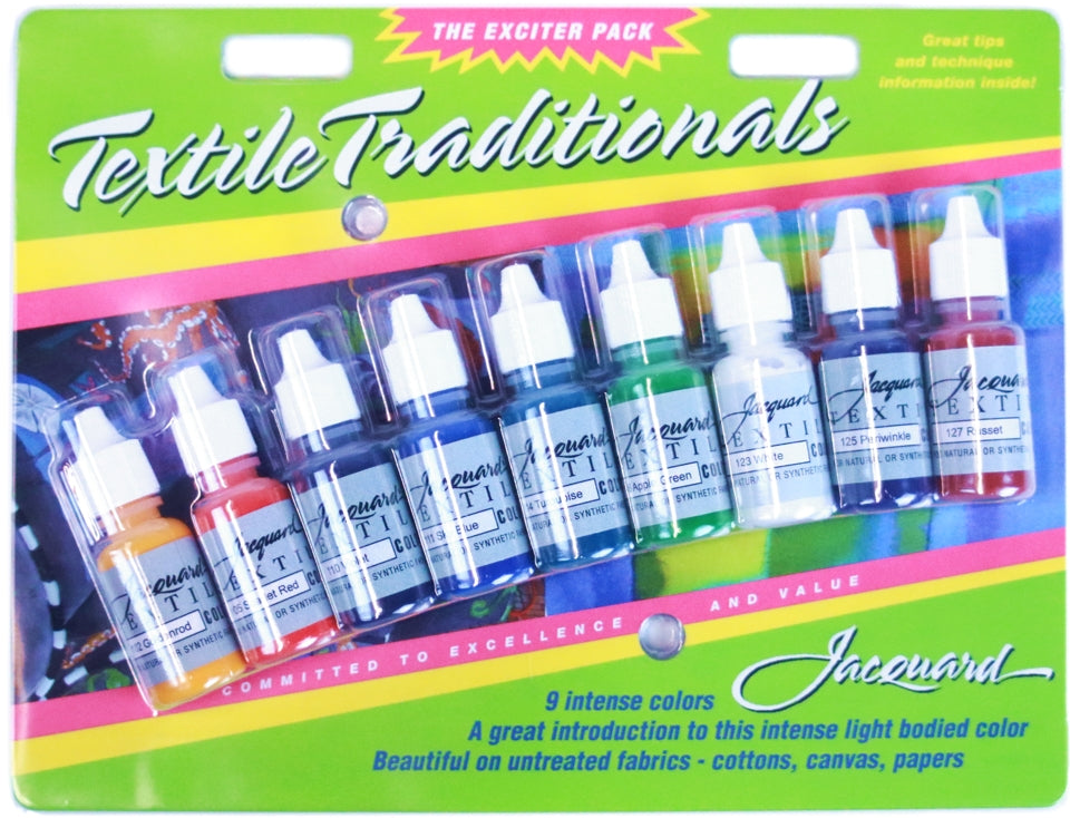 Jacquard Textile Paint Exciter Pack