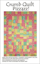 Load image into Gallery viewer, Crumb Quilt Pizzazz Pattern