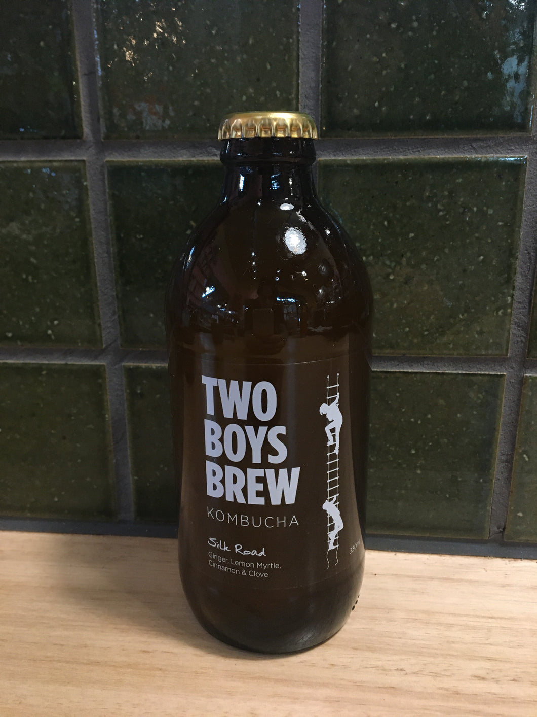 Two Boys Brews Kombucha Silk Road 350mL