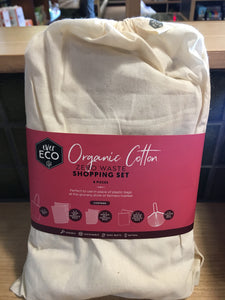 Ever Eco Shopping Set Organic Cotton - 8pk