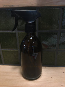 500mL Amber Glass Bottle Spray 280g