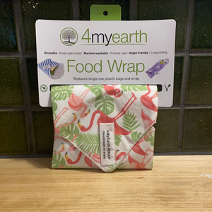 4MyEarth Food Wrap- Flamingoes