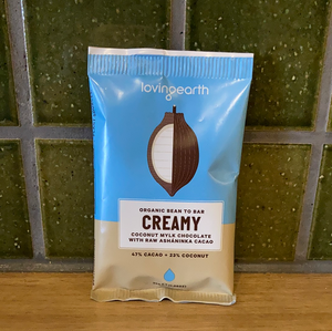 Loving Earth Mylk Chocolate - Creamy Coconut 30g