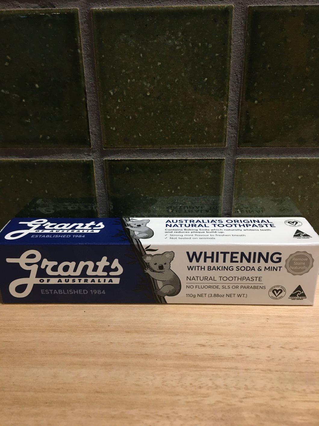 Grants Toothpaste - Whitening 110g