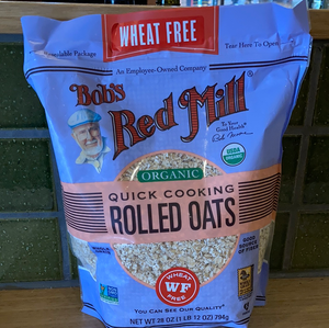Bob's Red Mill - Rolled Oats - Quick Cooking Organic 907g