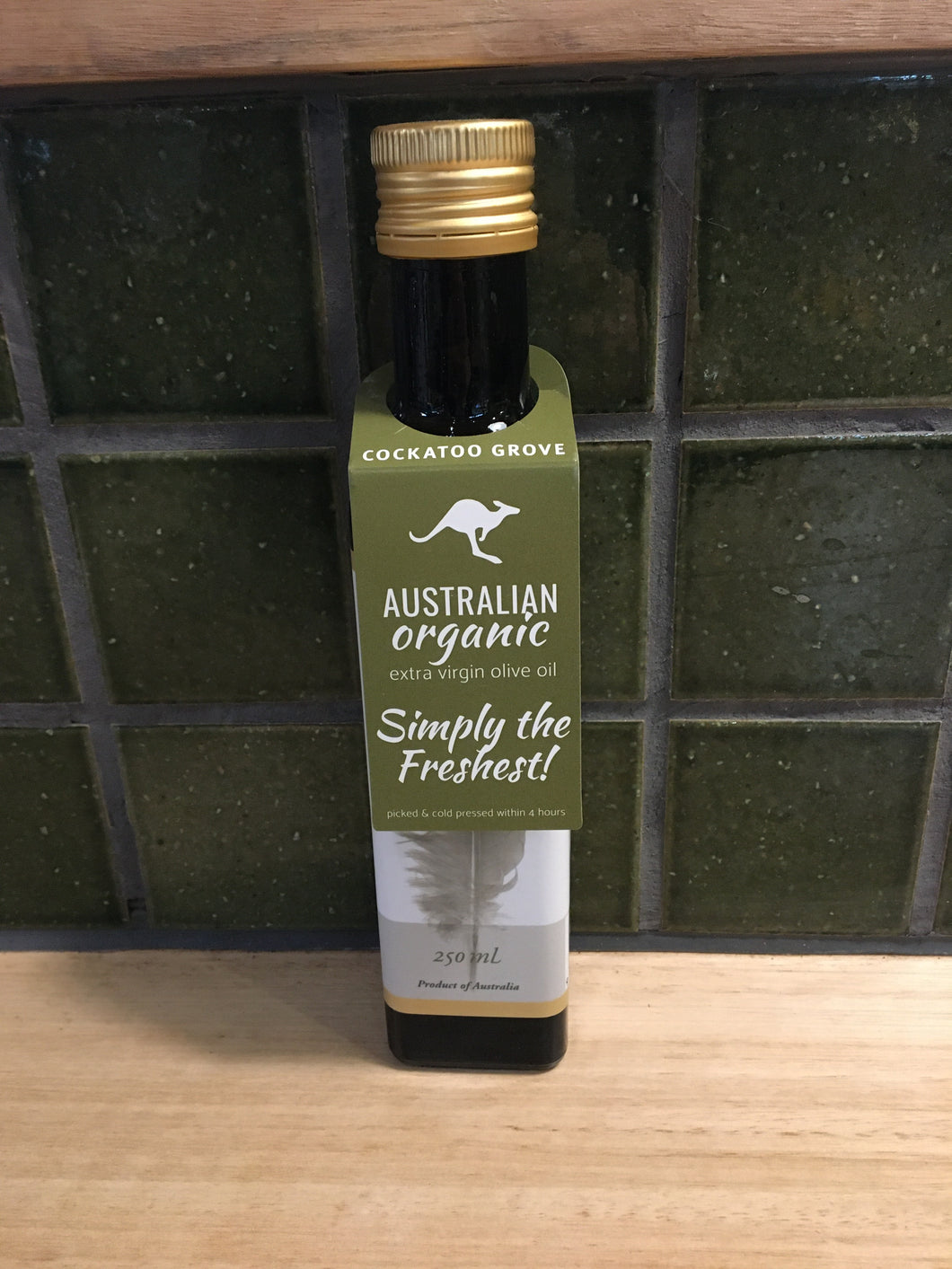 Cockatoo Grove - Olive Oil Extra Virgin - Organic 250mL