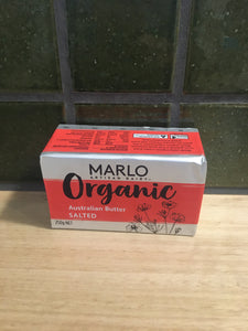 Marlo Butter Salted Organic 250g