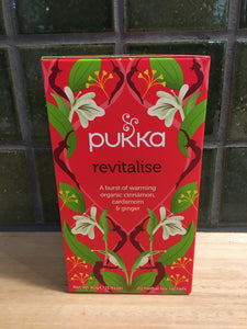 Pukka Tea 20pk Revitalise