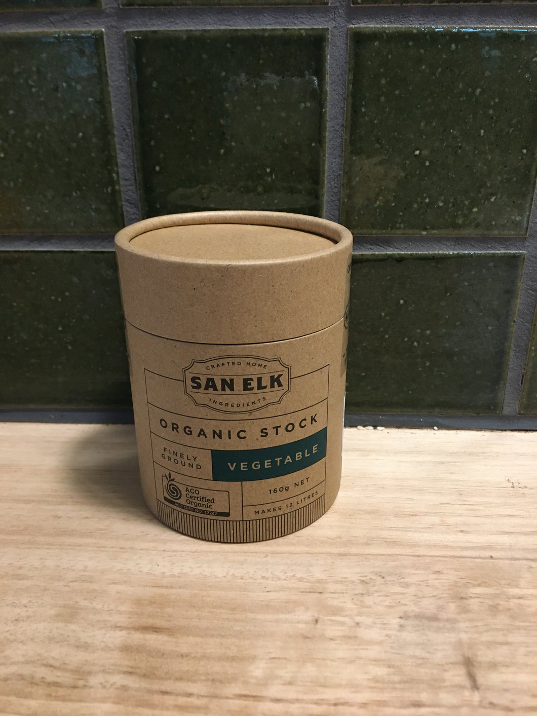San Elk Artisan Stock Vegetable 160g