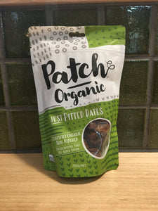 Patch Organic Just Pitted Dates 250g